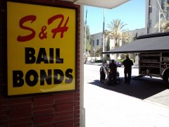 Bomb Squad for Chase Bank next to S&H Bail Bonds