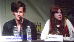 2012 Comic Con Matt Smith and Karen Gillan