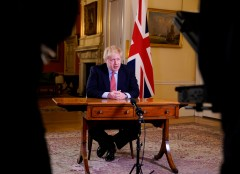 U.K. Prime Minister Boris Johnson, Boris Johnson, Prime Minister Tests Positive