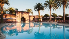 One of the pools at the Grand Del Mar.